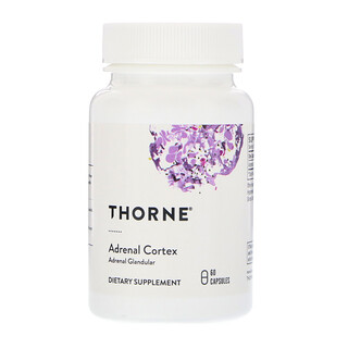Thorne Research, Adrenal Cortex, 60 Capsules