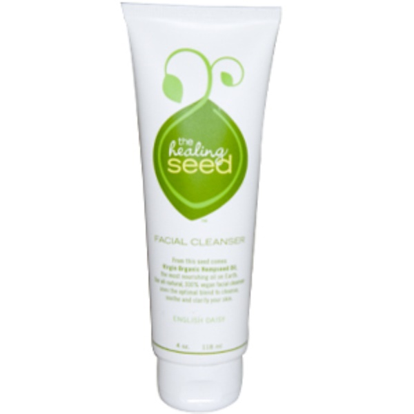 The Healing Seed, Facial Cleanser, English Daisy, 4 oz (118 ml) (Discontinued Item)
