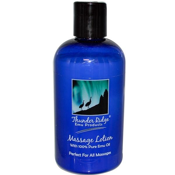 Thunder Ridge Emu Products, Massage Lotion, 8 fl oz (225 ml) (Discontinued Item)