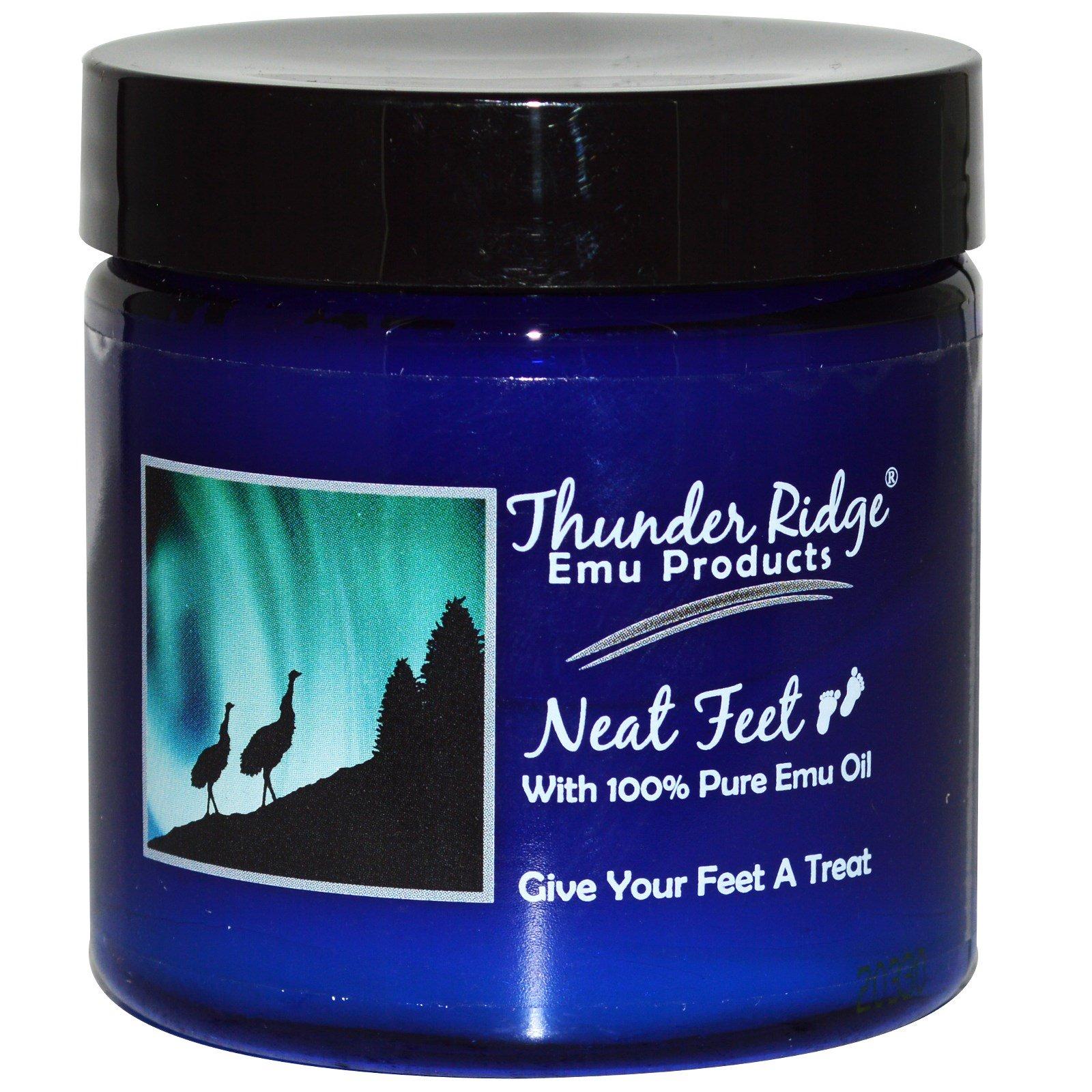 Thunder Ridge Emu Products, Красивые ноги (Neat Feet), 4 унции (113,6 г)