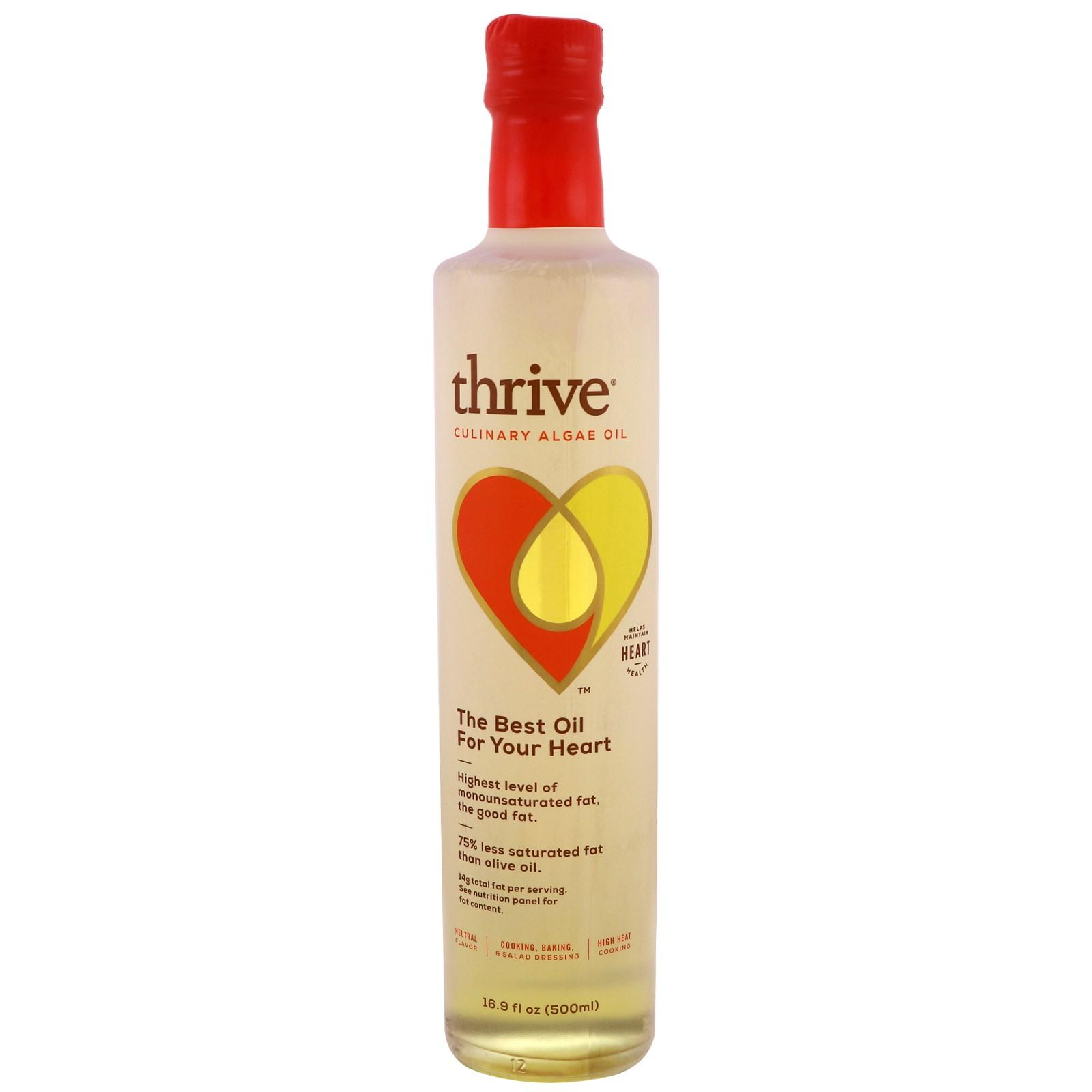 Thrive, Кулинарное масло морских водорослей, 16.9 унций (500 мл)