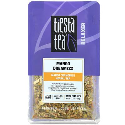 Купить Tiesta Tea Company Premium Loose Leaf Tea, Mango Dreamzzz, Caffeine Free, 1.5 oz (42.5 g)