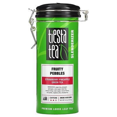 Купить Tiesta Tea Company Premium Loose Leaf Tea, Fruity Pebbles, 4.0 oz (113.4 g)
