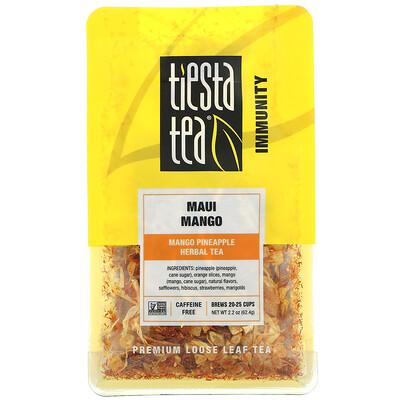 Купить Tiesta Tea Company Premium Loose Leaf Tea, Maui Mango, Caffeine Free, 2.2 oz (62.4 g)