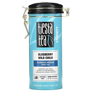 Tiesta Tea Company, Premium Loose Leaf Tea, Blueberry Wild Child, Caffeine Free, 5.5 oz (155.9 g)