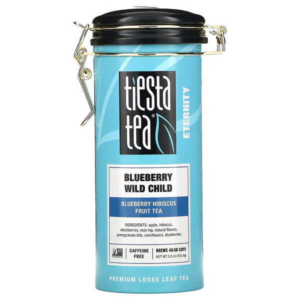 Blueberry Wild Child, Premium Loose Leaf Tea, Caffeine Free, 5.5 oz (155.9 g)