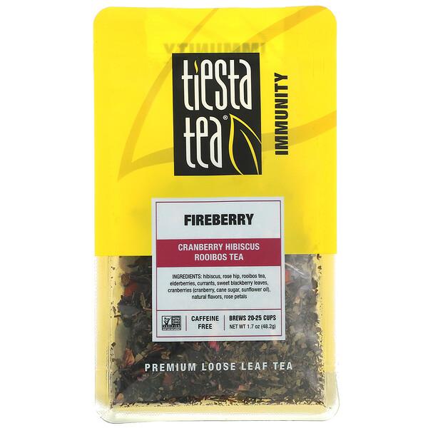 Premium Loose Leaf Tea, Fireberry, Caffeine Free, 1.7 oz (48.2 g)