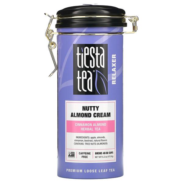 Tiesta Tea Company, Premium Loose Leaf Tea, Nutty Almond Cream,  Caffeine Free,  6.2 oz (175.8 g)