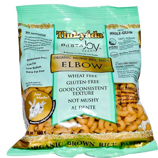 Tinkyada, Organic Brown Rice Pasta, Elbow, 12 oz (340 g) (Discontinued Item)