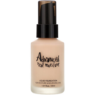 Touch in Sol, Advanced Real Moisture, Liquid Foundation, SPF 30 PA++, #21 Nude Beige, 1.01 fl oz (30 ml)
