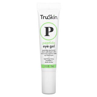 TruSkin, 肽眼凝膠,0.5 液量盎司(15 毫升)
