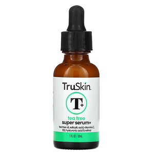 TruSkin, Tea Tree Super Serum+, 1 fl oz (30 ml)