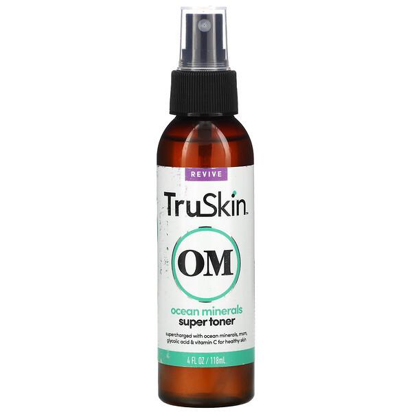 TruSkin, Ocean Minerals Super Toner, 4 fl oz (118 ml)