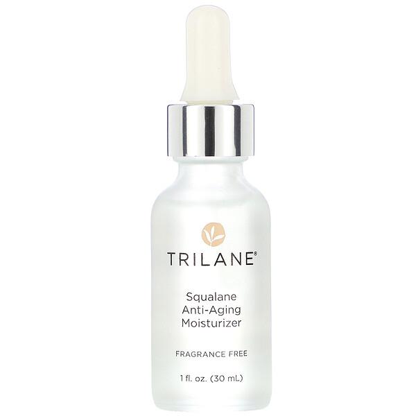 Squalane Anti-Aging Moisturizer, Fragrance Free, 1 fl oz (30 ml)