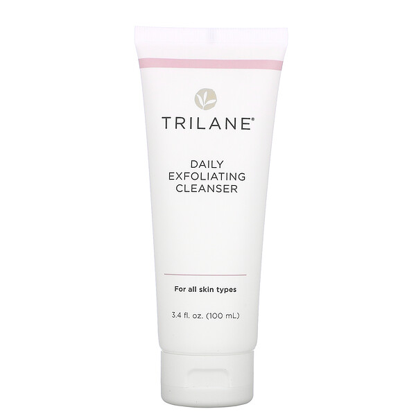 Trilane, Daily Exfoliating Cleanser, 3.4 fl oz (100 ml)