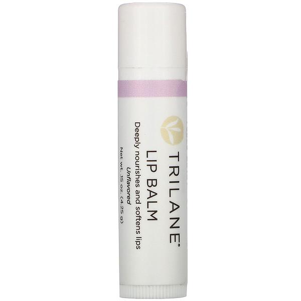 Lip Balm, Unflavored, .15 oz (4.25 g)