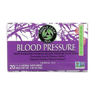 Triple Leaf Tea, Blood Pressure, 20 Tea Bags, 1.06 oz (30 g)