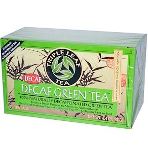 Трипл Лиф Ти, Decaf Green Tea, 20 Tea Bags, 1.4 oz (40 g) отзывы
