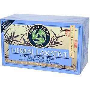 Трипл Лиф Ти, Herbal Laxative, 20 Tea Bags, 1.4 oz (40 g) отзывы покупателей