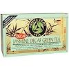 Triple Leaf Tea, Зеленый чай с жасмином, без кофеина, 20 чайных пакетиков, 1.34 унций (28 г)