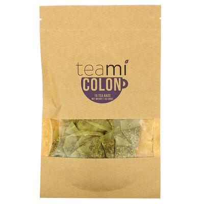 Купить Teami Colon Tea Blend, 15 Tea Bags, 1 oz (30 g)
