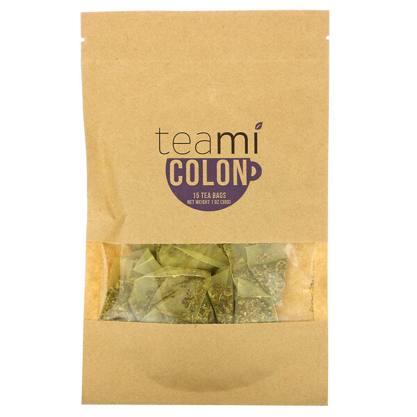 Colon Tea Blend, 15 Tea Bags, 1 oz (30 g)