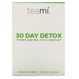 Teami, 30 Day Detox, Skinny Tea Blend + Colon Tea Blend, 30-Tage-Entschlackung, Teemischungen, 1Set