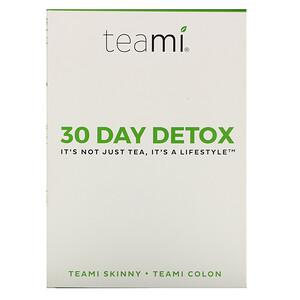 Teami, 30 Day Detox, Skinny Tea Blend + Colon Tea Blend, 1 Kit отзывы