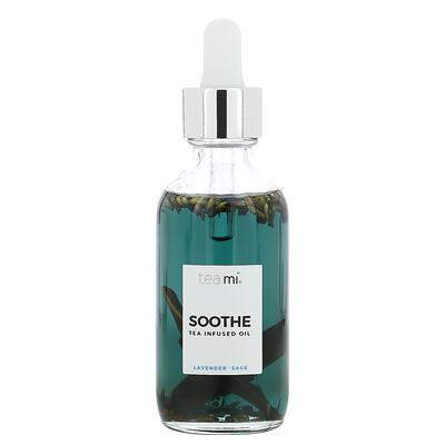 Купить Teami Soothe, Tea Infused Oil, Lavender Sage, 2 oz