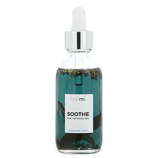 Teami, Soothe, Tea Infused Oil, Lavender Sage, 2 oz