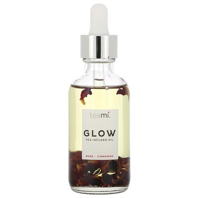Купить Teami Glow, Tea Infused Facial Oil, Rose Cinnamon, 2 oz