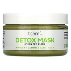 Teami, 清體美容面膜,綠茶混合物,6.5 盎司(192 毫升)
