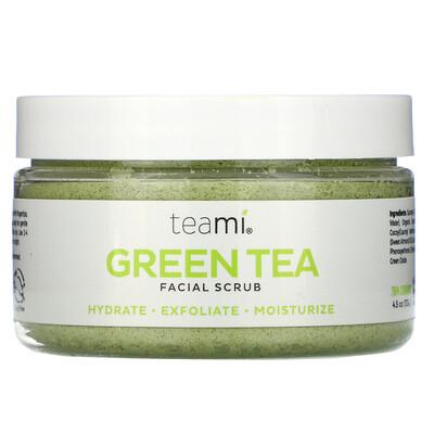 Купить Teami Green Tea Facial Scrub, 4 oz (100 ml)
