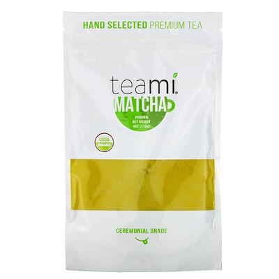 Купить Teami Organic Matcha Powder, Ceremonial Grade, 4 oz (113 g)