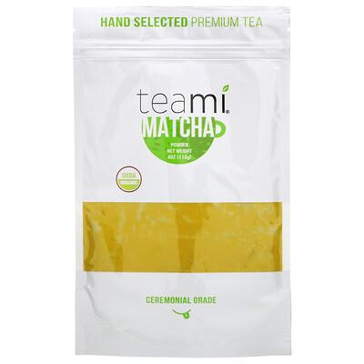 Купить Teami Organic, Matcha Powder, 4 oz (113 g)