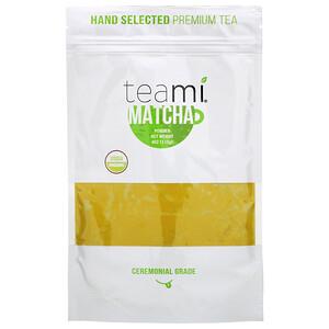 Teami, Organic, Matcha Powder, 4 oz (113 g) отзывы