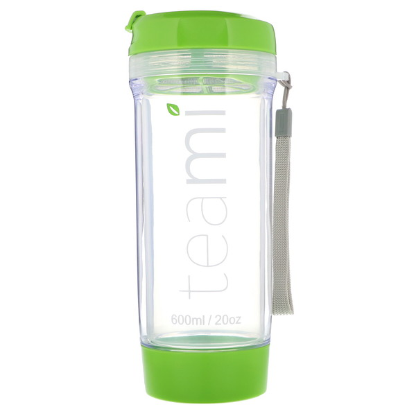 Teami, Tumbler On-the-Go, Green, 20 oz (Discontinued Item)
