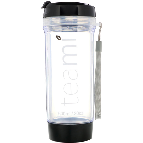 Teami, Tumbler On-the-Go, Black, 20 oz