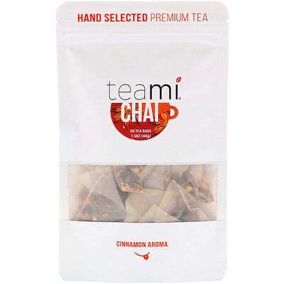 Купить Teami Chai Tea Blend, 20 Tea Bags, 1.5 oz (44 g)