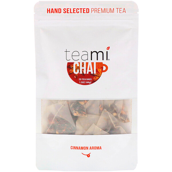 Teami, Chai Tea Blend, 20 Tea Bags, 1.5 oz (44 g)