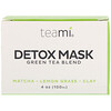 Teami, Detox Mask, Green Tea Blend, 4 oz (100 ml)