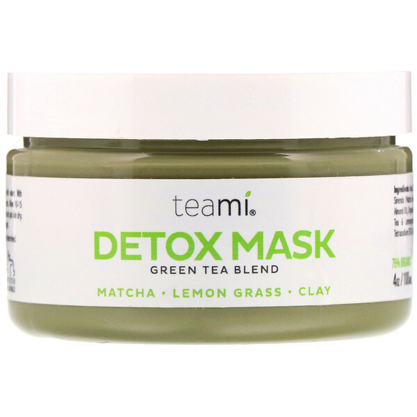 Detox Mask, Green Tea Blend, 4 oz (100 ml)