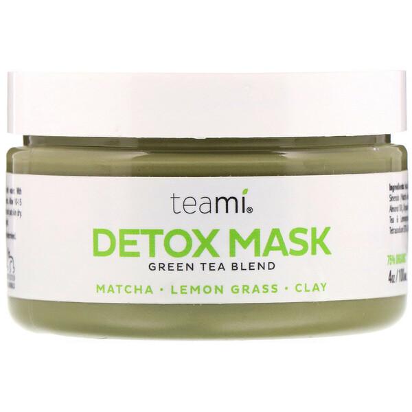 Teami, Detox Mask, Green Tea Blend, 4 oz (100 ml) (Discontinued Item)