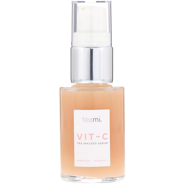 Teami, Vit-C, Tea Infused Serum, Hibiscus, 1 oz (Discontinued Item)