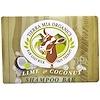 Tierra Mia Organics, Raw Goat Milk Skin Therapy, Shampoo Bar, Lime in Coconut, 3.8 oz