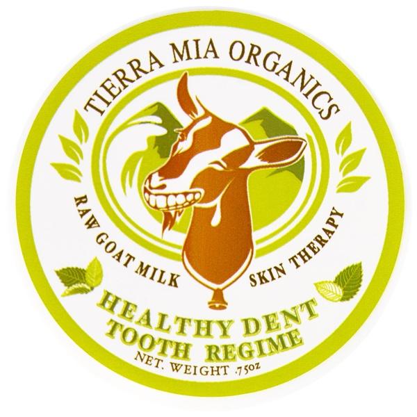 Tierra Mia Organics, Raw Goat Milk Skin Therapy, Healthy Dent Tooth Regime, .75 oz