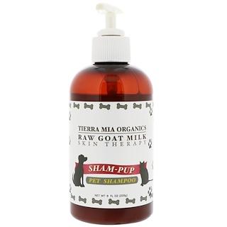 Tierra Mia Organics, Raw Goat Milk Skin Therapy, Sham-Pup, Pet Shampoo, 8 fl oz (226 g)