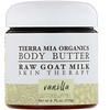 Tierra Mia Organics, Body Butter, Raw Goat Milk, Skin Therapy, Vanilla, 4 fl oz (113 g)