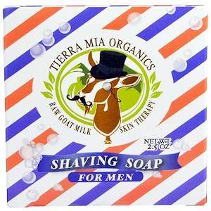 Тиерра Миа Орагникс, Raw Goat Milk Skin Therapy, Shaving Soap For Men, 2.5 oz отзывы