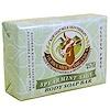 Tierra Mia Organics, Terapia de leche de cabra para la piel ,cruda, barra para el rostro, salvia y menta, 3,8 onzas